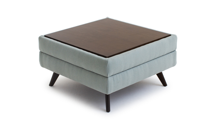 hopson table top ottoman by joybird. Black Bedroom Furniture Sets. Home Design Ideas