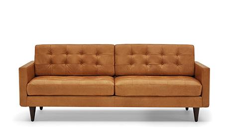 Lincoln Leather Sofa