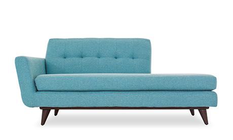 Hughes chaise by joybird - Chaise medaillon moderne ...