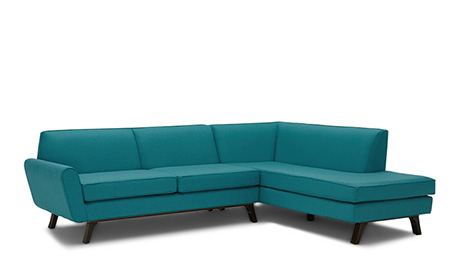 Colorado Sectional with Bumper (2 piece)