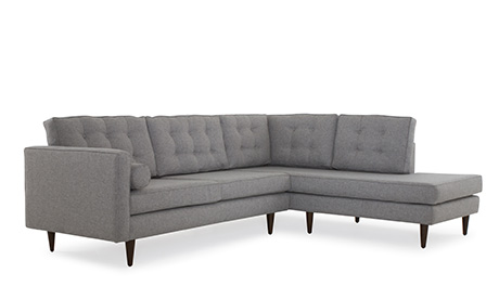 Melrose Sectional with Bumper (2 piece)