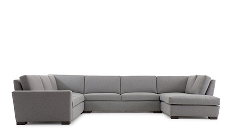 Mullholland U-Sofa Bumper Sectional (4 piece)