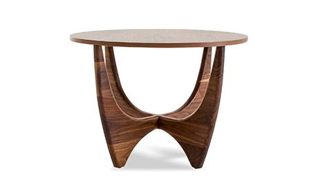Holmby (Wood Top) End Table