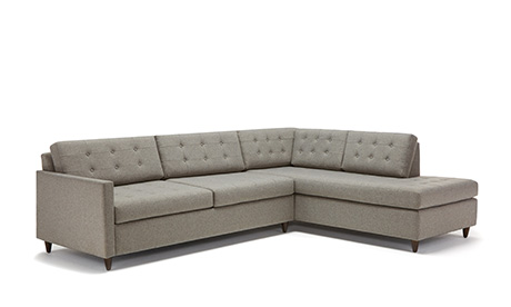 Lincoln Bumper Sleeper Sectional
