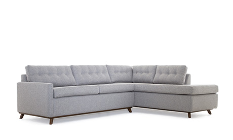 Baxter Bumper Sleeper Sectional