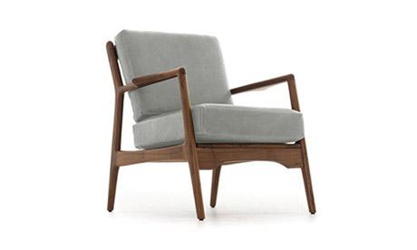 Los Feliz Leather Chair