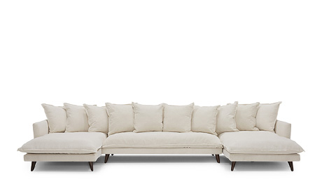 Denna U-Chaise Sectional