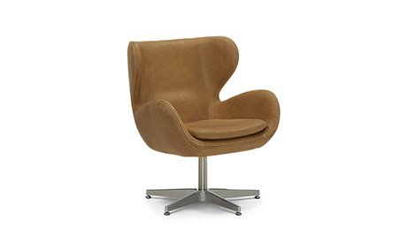 Dixie Leather Swivel Chair