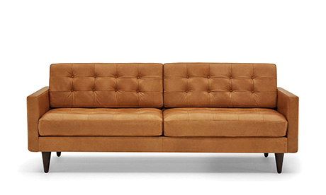 Hughes Sofa; Eliot Leather Sofa