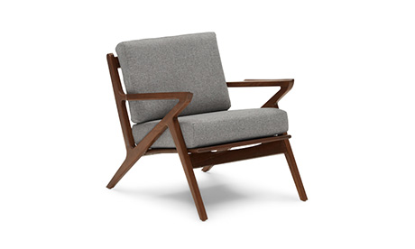 Soto Concave Arm Chair