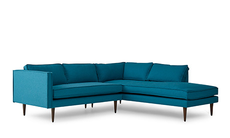Serena Sectional with Bumper