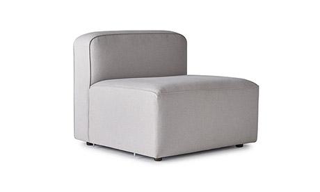 Logan Armless Chair