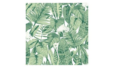 Green Tropical Jungle Wallpaper