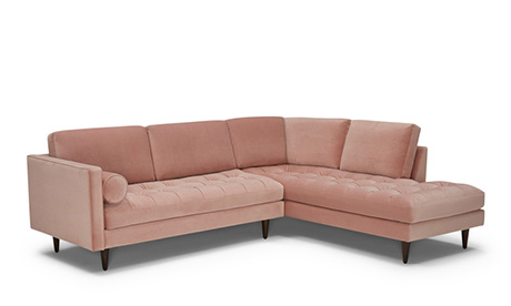 Briar Sectional with Bumper