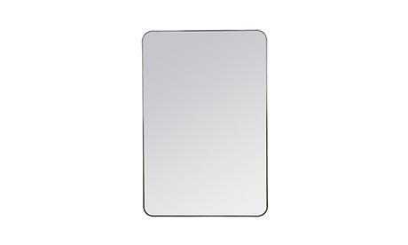 Amelia (Black Matte) Mirror